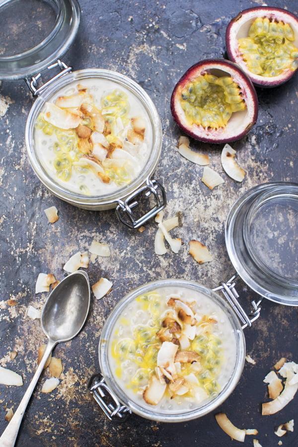 Coconut Tapioca Pudding [vegan] [gluten free] © Le Flexitarien- Annabelle Randles