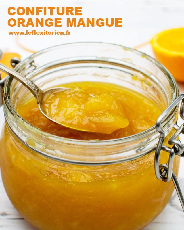 Confiture Orange Mangue [vegan] by The Flexitarian Le Flexitarien