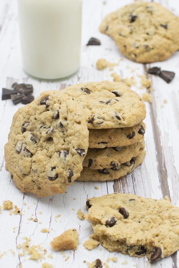 Cookies vegan aux pépites de chocolat © 2019 Annabelle Randles The Flexitarian Le Flexitarien