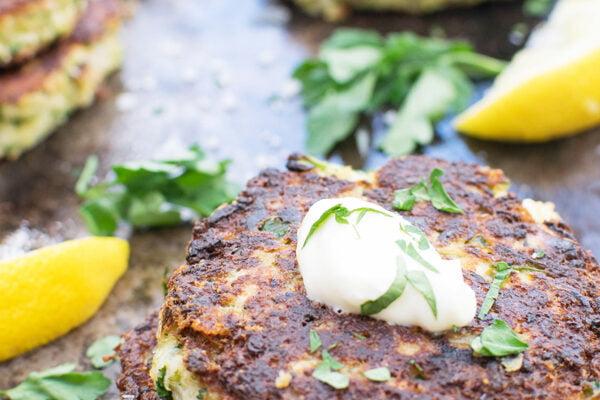 Beignets de chou-fleur et brocoli [végétarien] par Le Flexitarien