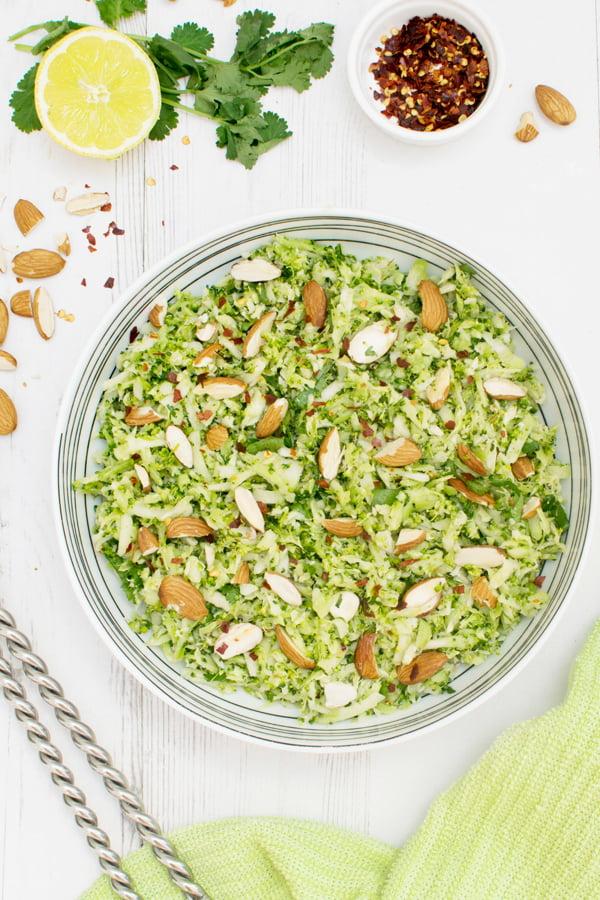 salade de brocoli cru
